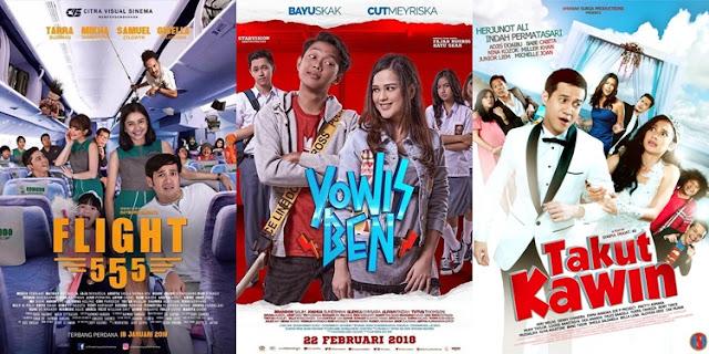 Rekomendasi Film Komedi Indonesia Terlucu Tahun 2018
