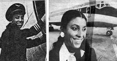 Jill E. Brown-Hiltz, first Black woman pilot at a major airline