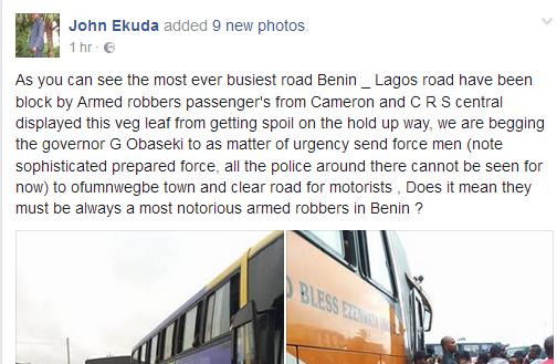 Benin-Lagos Road