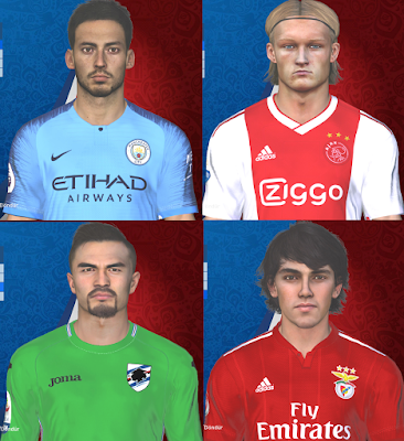 PES 2017 Facepack February 2019 by Facemaker Huseyn