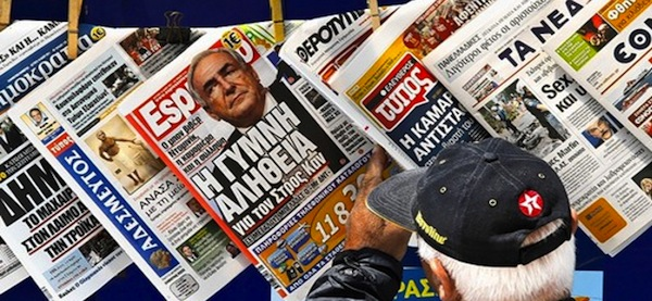 Greek Media Report on Elections in Macedonia