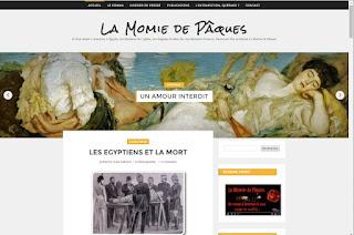 Le blog du roman La Momie de Pâques