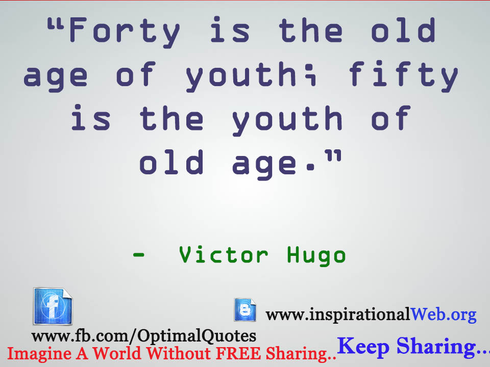 Motivational Quotes For Old Age