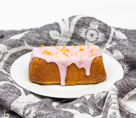 Vegan Blood Orange Cake