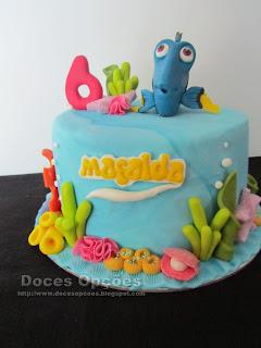 dory nemo cake disney
