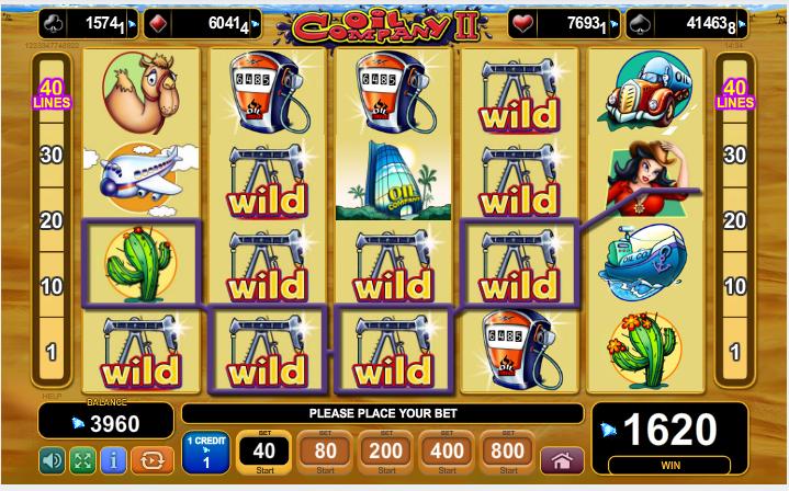 Jucat acum Oil Company II Slot Online