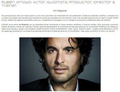 """ENTREVISTA a Rubén Arroyo """"Actor & Guionista"""" by Melanie Belmonte"""
