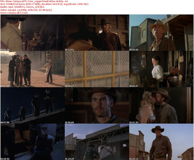 Copperhead DVDRip Español Latino