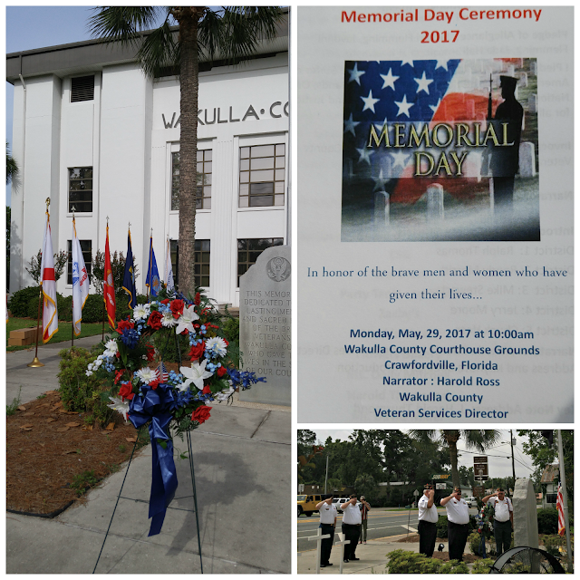Wakulla County Florida Memorial Day Celebration 2017