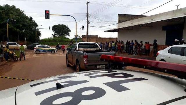 Executado a bala! Fazendeiro é morto a tiros dentro de caminhonete na zona Leste