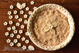 Country Fair Blog Party Blue Ribbon Winner: A Delightful Glow's Rhubarb Surprise Pie