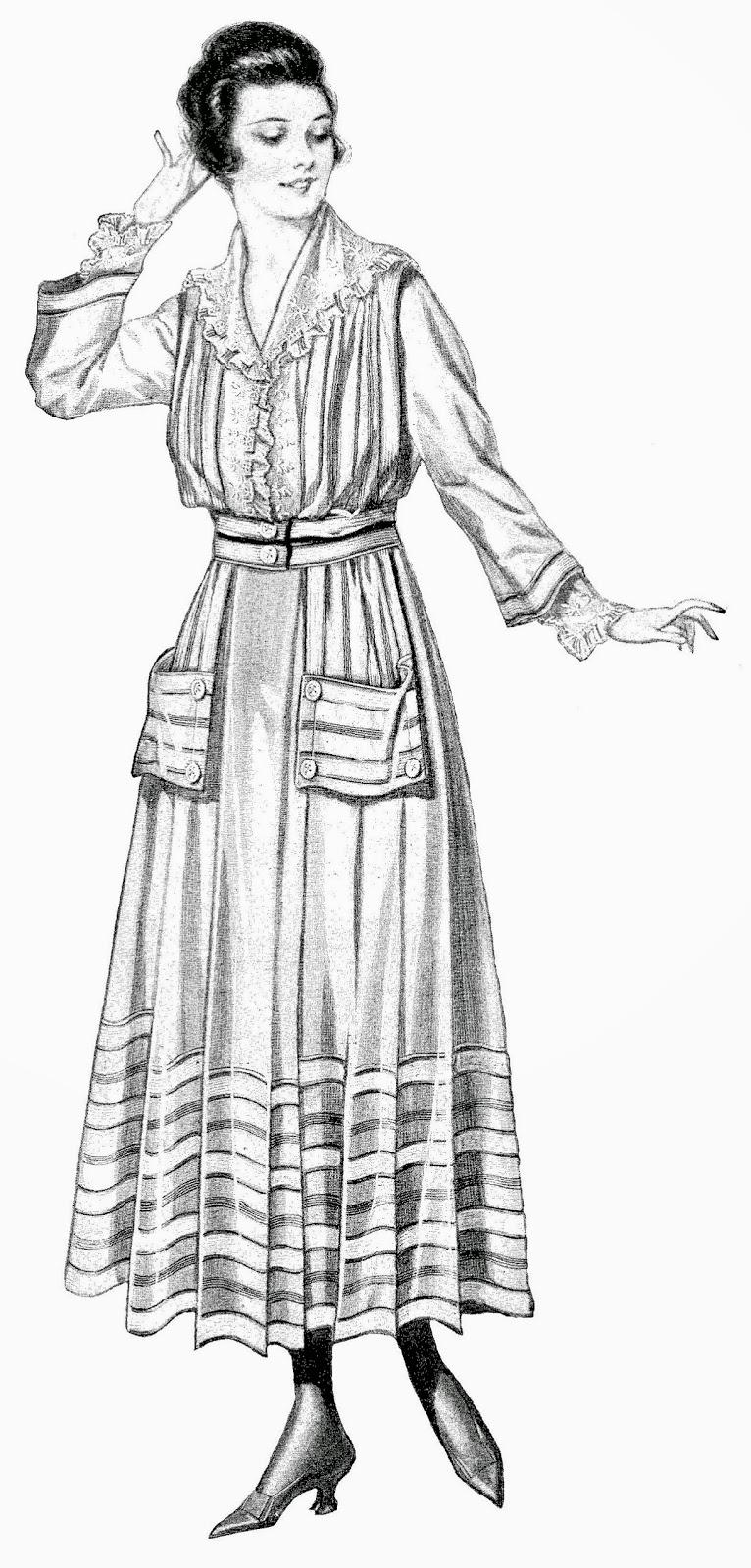 vintage dresses clipart - photo #20