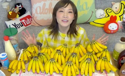 Yuka Kinoshita Makan 137 Biji Pisang Dalam 6 Minit