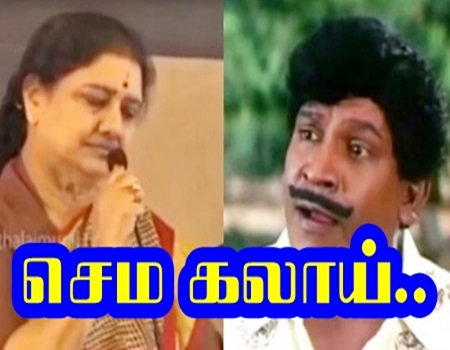 V.K Sasikala Kalaaipu Video