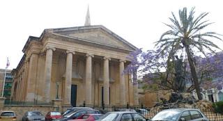 St Paul's Anglican Pro-Cathedral, La Valletta, Malta.