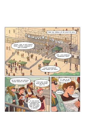 """""""Primavera Graphic Sound"""", un homenaje al festiva musical en forma de cómic."""