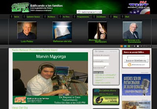 Sitio Web de Radio Renacer