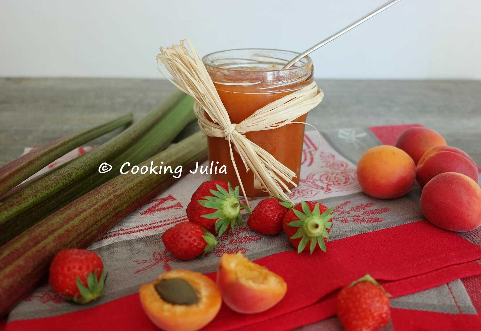 confiture abricot allegee thermomix