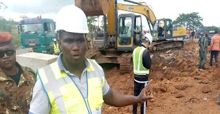 GUINEE : Kindia, le Ministre des Travaux Publics supervise la finalisation des travaux d'aménagement de la déviation de Linsan.