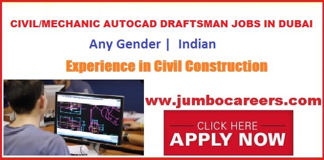 autocad draftsman jobs in dubai salary  autocad draftsman jobs in uae 2018