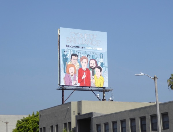 Silicon Valley season 4 Emmy FYC billboard