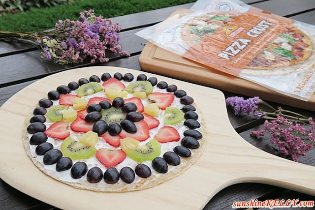 Sunshine Fruit Pizza x Mission Pizza Crust
