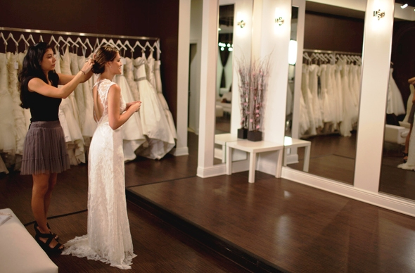 Como é a loja Solutions Bridal em Orlando