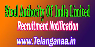 SAIL Steel Authority Of India Limited Recruitment Notification 2016 Apply Online