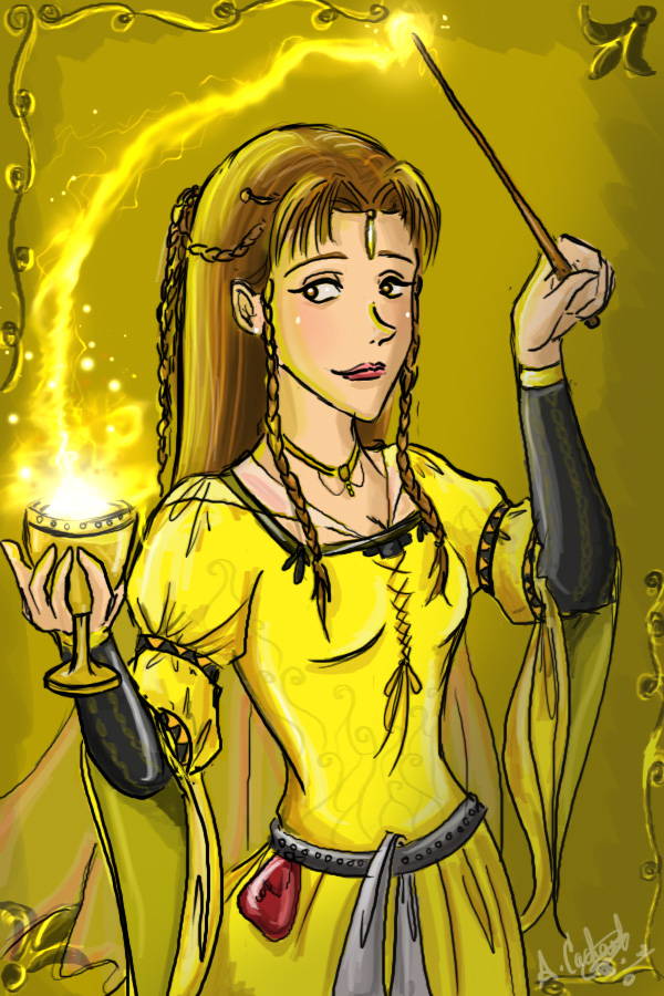 Hufflepuff Wallpaper Cute Helga Hufflepuff Hp Fan