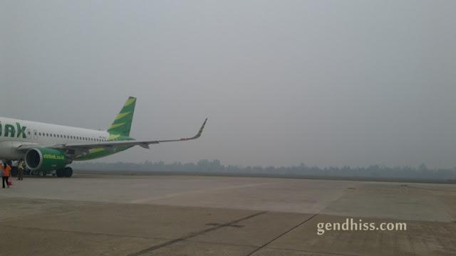 kondisi bandara Tjilik Riwut, Palangkaraya