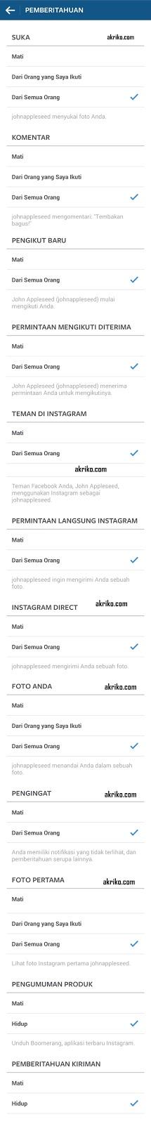 Siapakah John Appleseed di Notifikasi Instagram?
