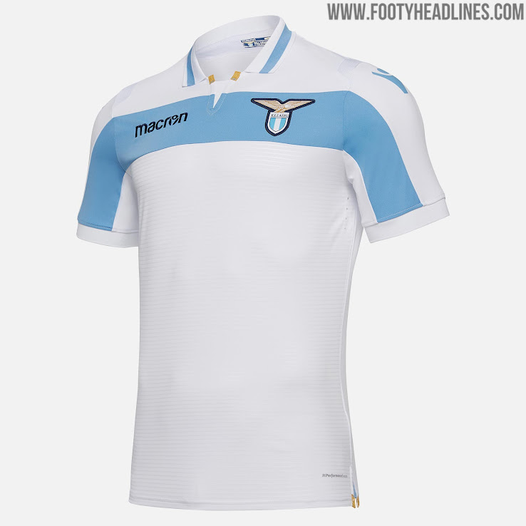 Lazio 18-19 Away   Europa League Kit Released - Footy Headlines 97354ab6c