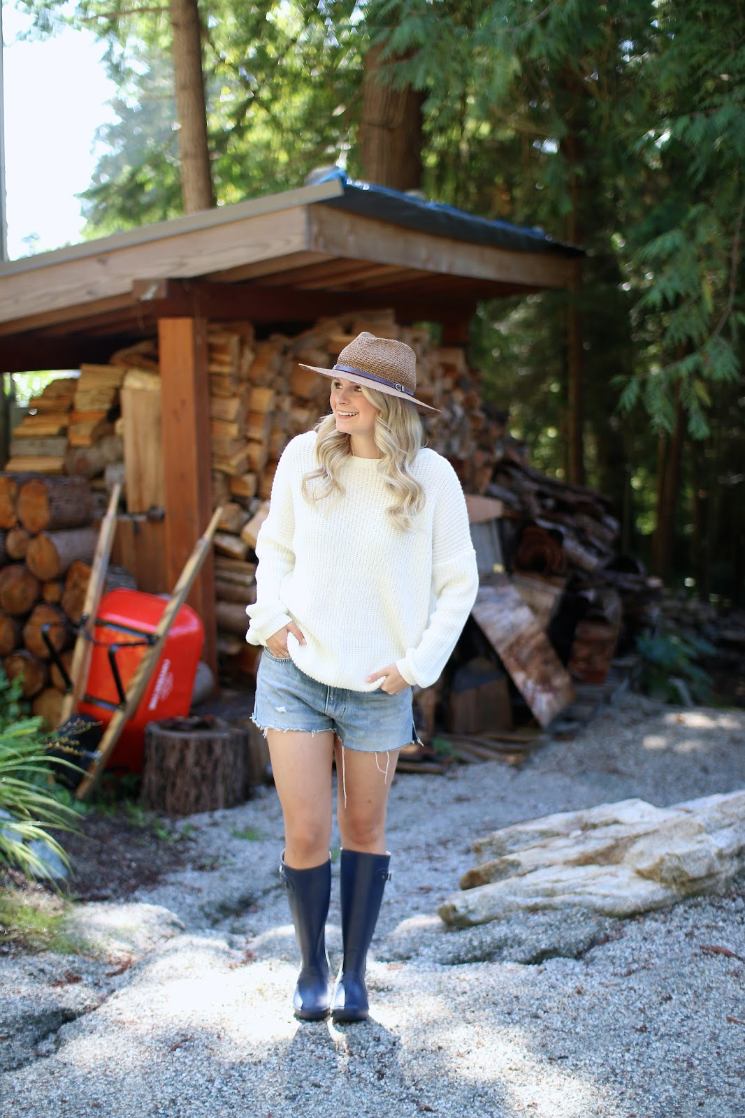 cabin chic outfit ideas