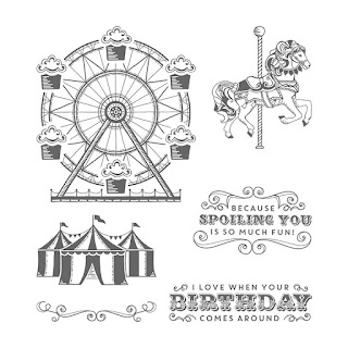 Carousel Birthday - Simply Stamping with Narelle - order here - http://bit.ly/2lttqGj