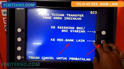 cara transfer bni ke bank lain 5