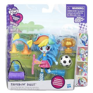 Equestria Girls Mini Rainbow Dash Pep Rally Set