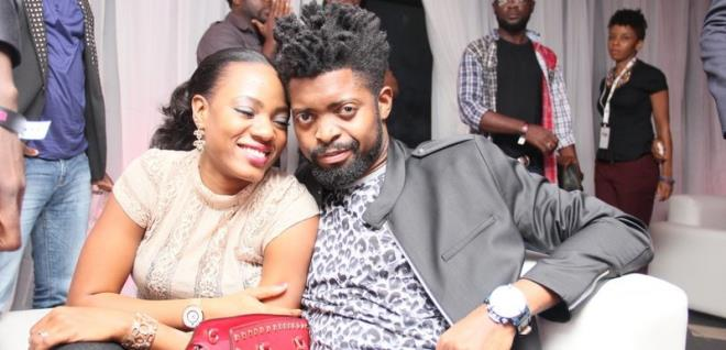 Basketmouth's wife comes for sidechicks waiting for her husband