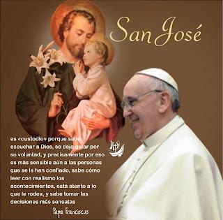 Resultado de imagen para San José y el papado