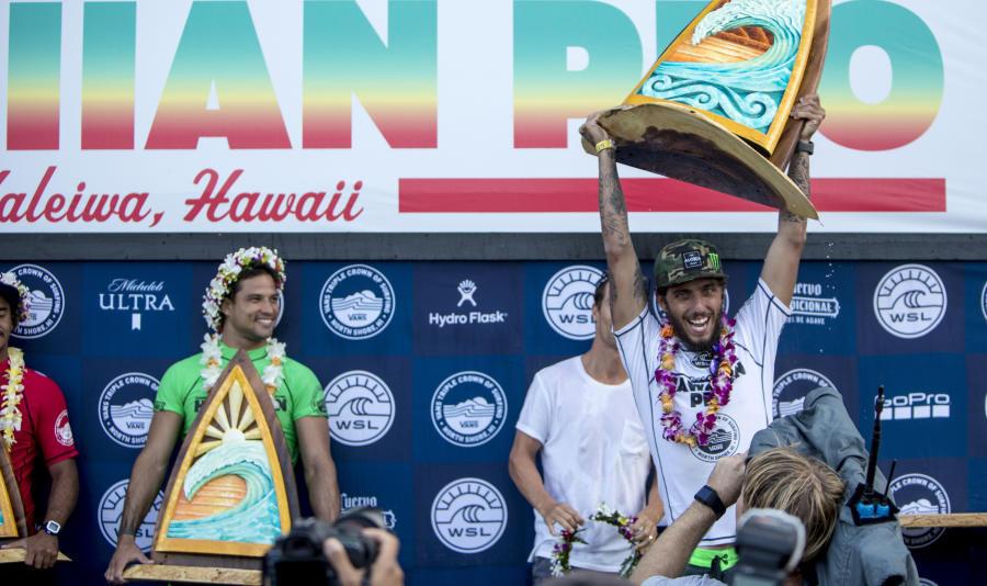 Hawaiian Pro 2017 Final Day Highlights Vans Triple Crown of Surfing VANS