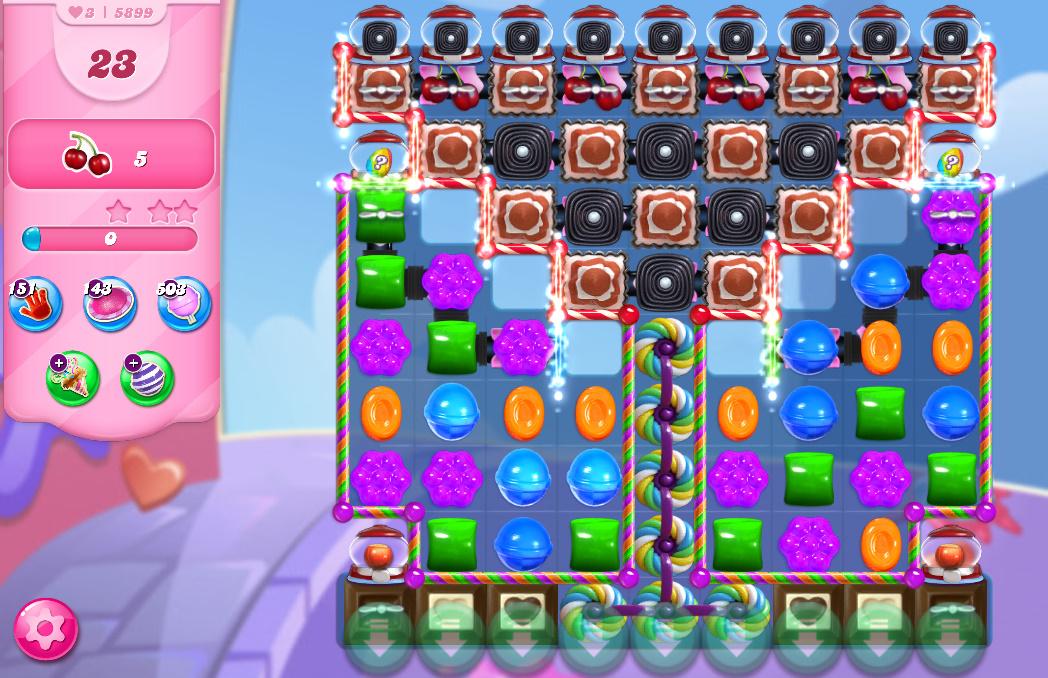Candy Crush Saga level 5899