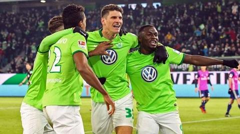 Các cầu thủ của CLB Wolfsburg