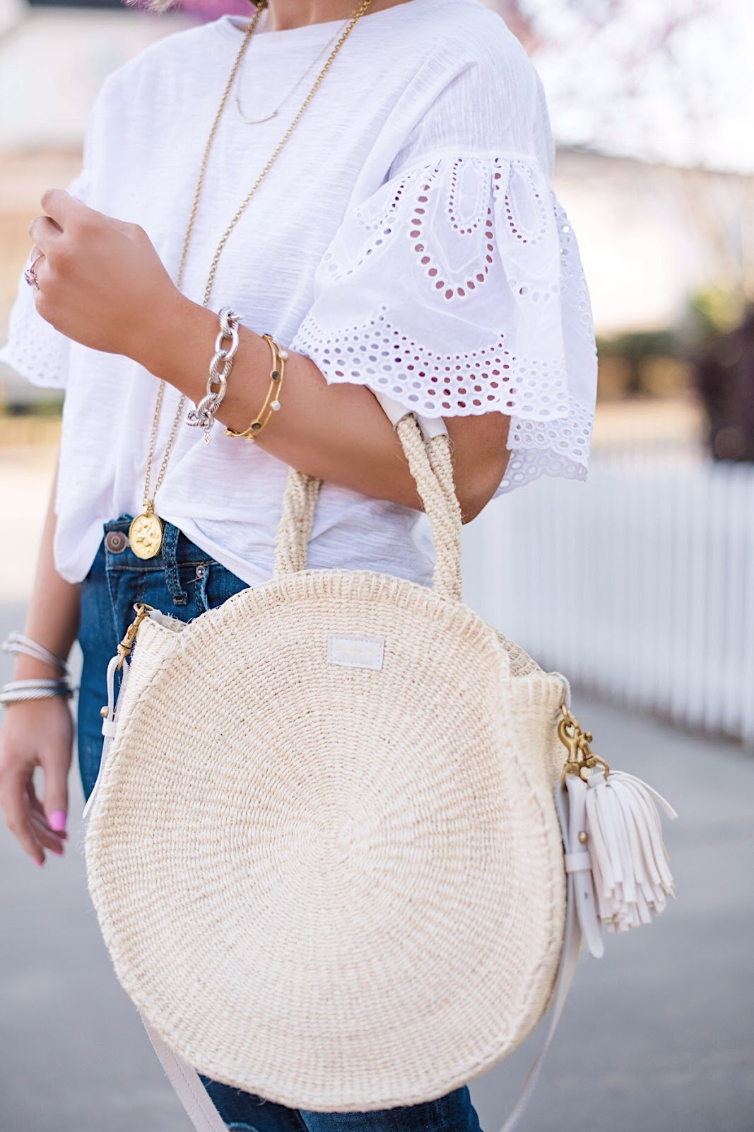 Clare V. Alice Tote - See more and find all the details on Something Delightful Blog