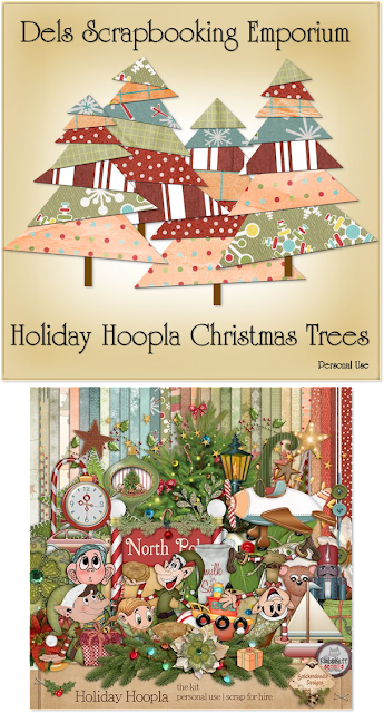 Holiday Hoopla Christmas Trees