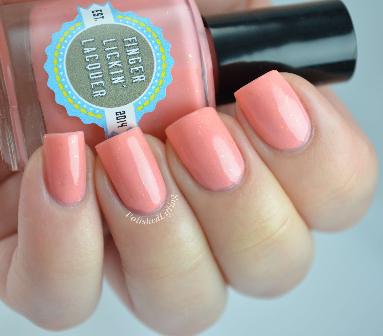 Finger Licking Lacquer Peachy Keen Spring In Your Step