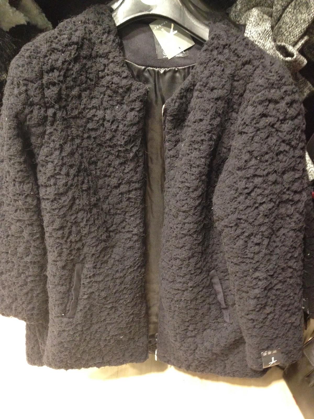 f5b167b581b6 Primark Fur Coat With Leather Sleeves - Tradingbasis