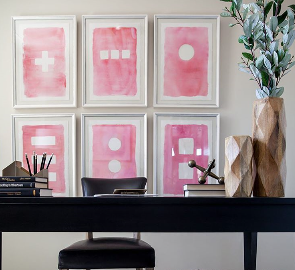 Lush Fab Glam Blogazine: How To Create A Stylish Wall Gallery.