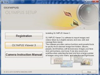 Olympus Viewer 3 Installation