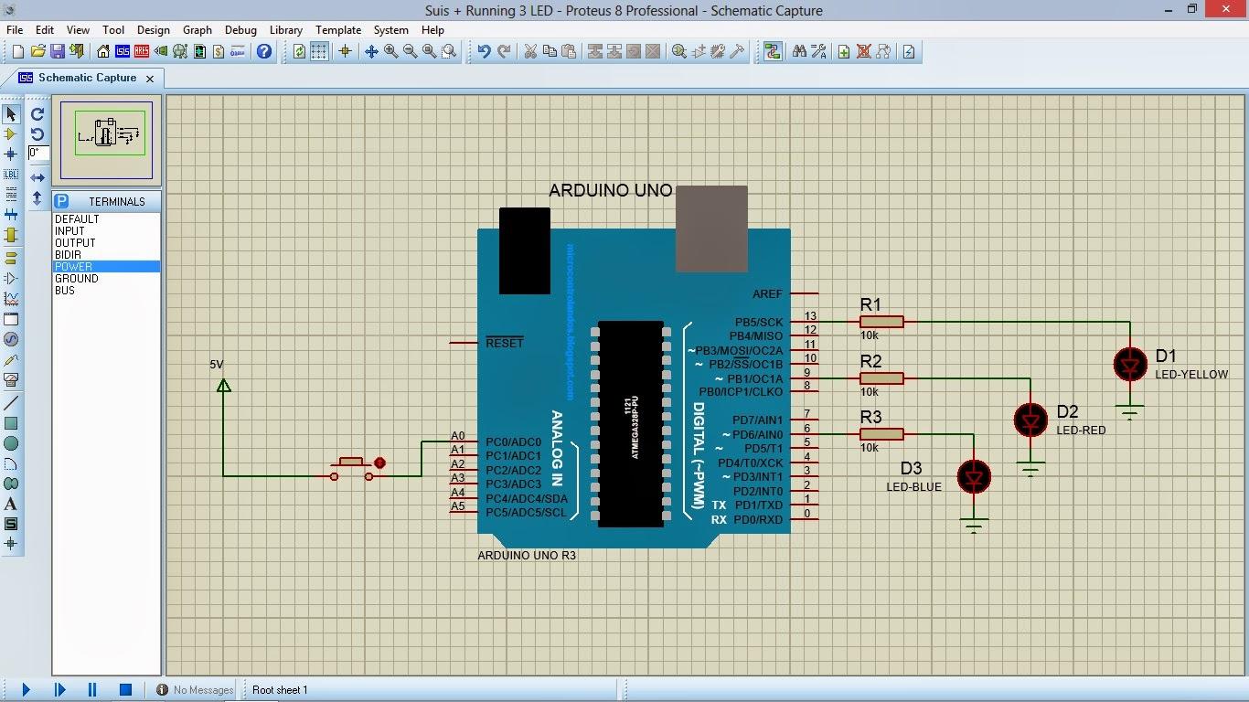 Litarprojek2u: Simulasi Litar Arduino Menggunakan Perisian
