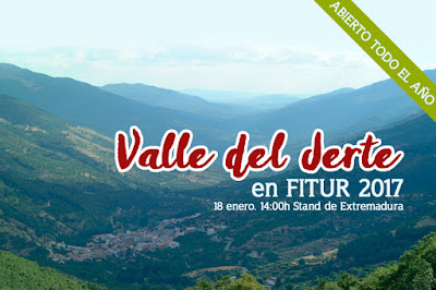 El Valle del Jerte estará en FITUR 2017