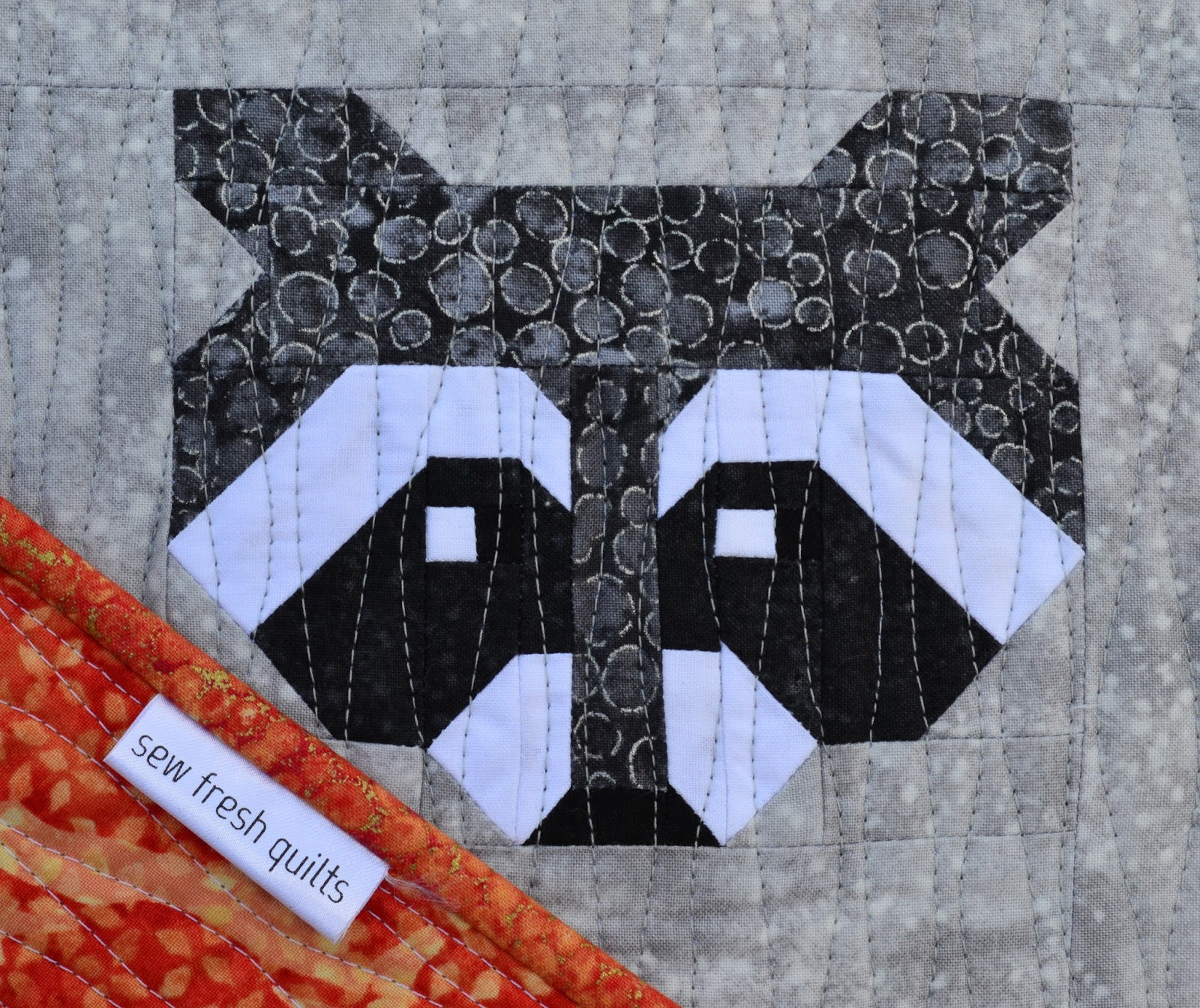 Raccoon Quilt | Sew Fresh Quilts
